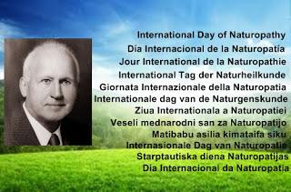 La Organización Colegial Naturopática celebra el Día Internacional de la Naturopatía, establecido el día 3 de febrero, aniversario del nacimiento de Benedict Lust, fundador de la Naturopatía