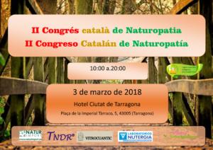"II Congreso Catalán de Naturopatía @ Hotel ""Ciutat de Tarragona"""
