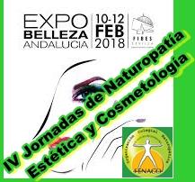 Mañana da comienzo la IV Jornada de Naturopatía Estética y Cosmetología en Expobelleza Andalucía 2018
