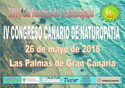 IV Congreso Canario de Naturopatía y XXVII Día Nacional de la Naturopatía se realizarán en Las Palmas de Gran Canaria