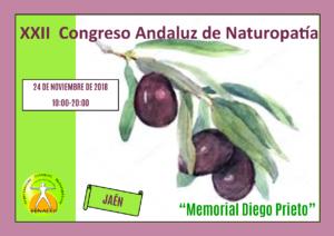 """XXII Congreso Andaluz de Naturopatía """"Memorial Diego Prieto"""""""
