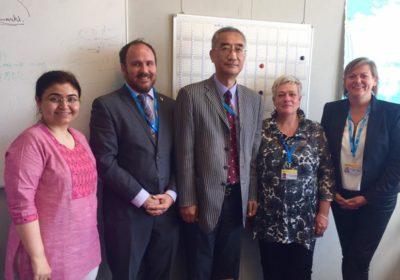 Importante presencia de la Naturopatía internacional en la 71ª Asamblea de la Organización Mundial de la Salud