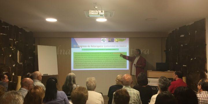 Conclusiones del III Congreso de Naturopatía Comunidad de Madrid