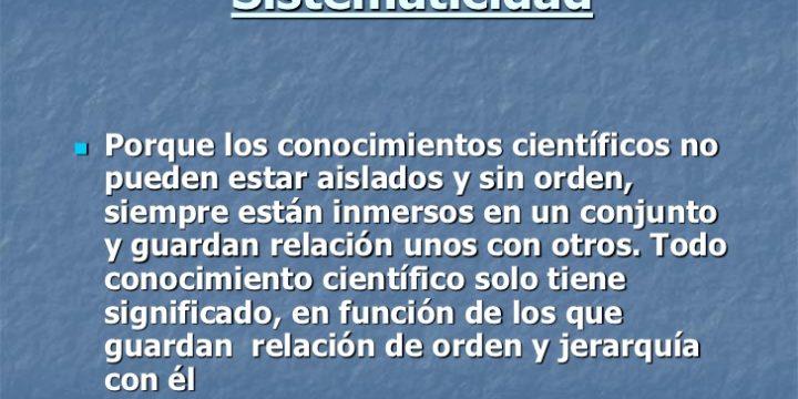 La Naturopatía cumple con los criterios de demarcación de la ciencia (3ª parte). Sistematicidad