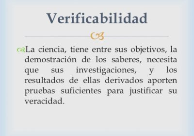 La Naturopatía cumple con los criterios de demarcación de la ciencia (5ª parte). Verificabilidad