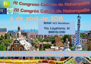 III Congreso Catalán de Naturopatía y II Jornadas Mediterráneas de Naturopatía @ Hotel HCC Montblanc