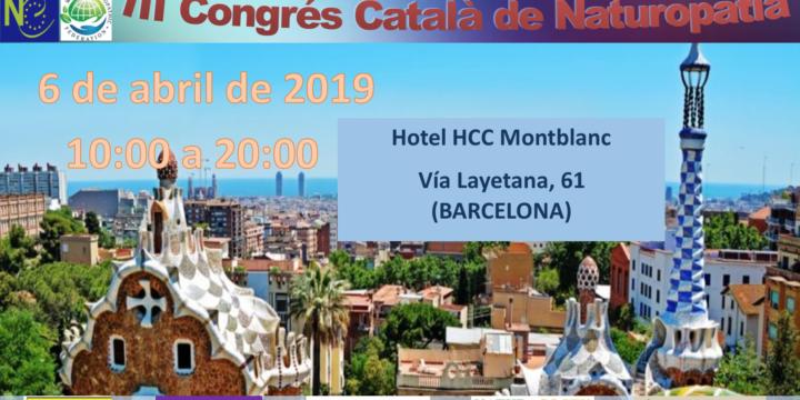 Difundimos el programa del III Congreso catalán de Naturopatía