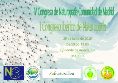 Preparativos para el IV Congreso de Naturopatía Comunidad de Madrid