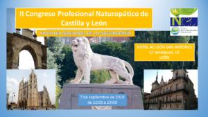 II Congreso Profesional de Naturopatía Castilla y León / XXVIII Día Nacional de la Naturopatía Española @ HOTEL AC LEON SAN ANTONIO