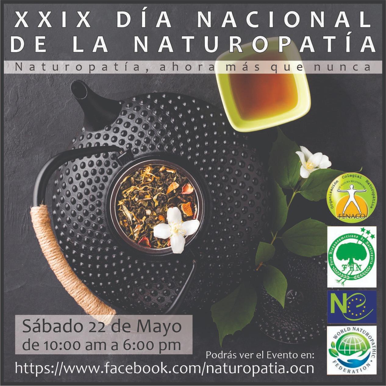 XXIX DÍA NACIONAL DE LA NATUROPATÍA @ ONLINE FACEBOOK